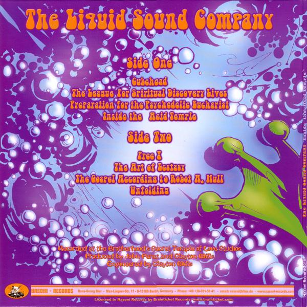 Liquid Sound Company - Inside The Acid Temple - Nasoni Records
